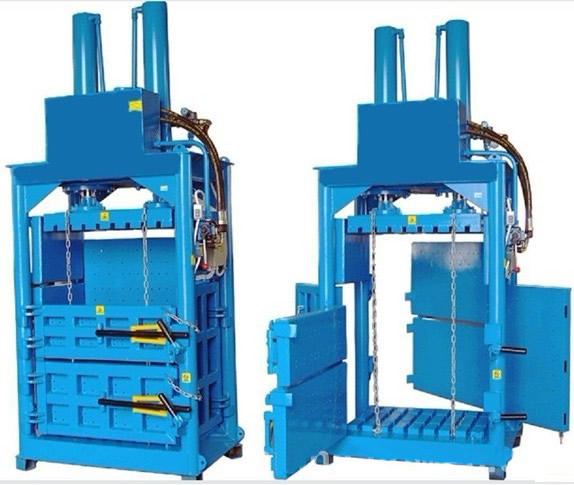 100吨立式液压废纸打包机