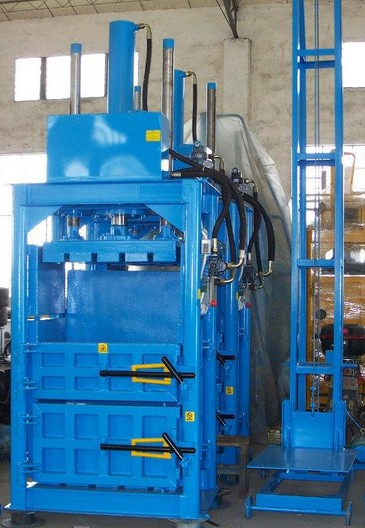 50吨立式液压废纸打包机