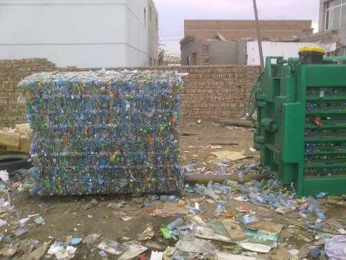 卧式废塑料打包机