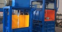 40吨立式液压废纸打包机